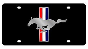 New Ford Mustang Logo Acrylic License Plate