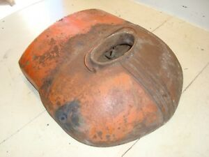 Case Dc Tractor Top Radiator Assembly Tank
