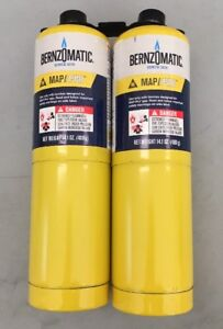 Worthington Cylinder Bernzomatic Map Pro Fuel Cylinder 14 1 Oz 2 Pack