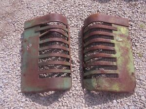 John Deere A Styled Tractor Orignl Jd Front Nose Cone Grill Hood Panel Panels A6