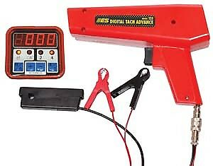 Electronic Specialties Timing Light With Digital Tach And Advance 125