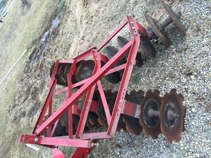 International Farmall Ih Tractor 3pt Hitch Real Nice Original 7 1 2 Adjust Disk