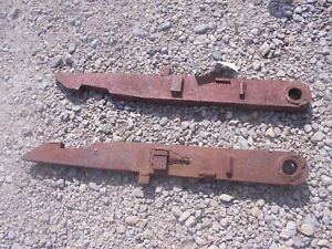 Farmall 300 350 400 450 560 Tractor Ih Fast Hitch 2pt 3pt Fasthitch Conversion