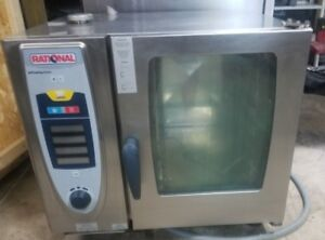 Rational Combi Steam Oven Model Scc 61 208v 3 Ph 30 Day Warranty Free Shipping