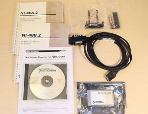 National Instruments Pcmcia gpib Interface Card Latching Cable Strain Relief