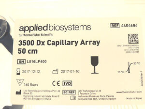 New Applied Biosystems 3500 Dx Genetic Analyzer 50cm 8 capillary Array 4404684