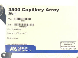 New Applied Biosystems 3500 Genetic Analyzer 36cm 8 capillary Array 4404683