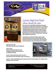 Custom High End Trade Show Booth 10x10