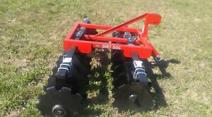 New Dirt Dog Hd 8 Ft 3 Point Disc Harrow