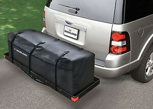Hitch Cargo Bag Waterproof Car Trailer Rack Luggage Rear Storage Rainproof Camp