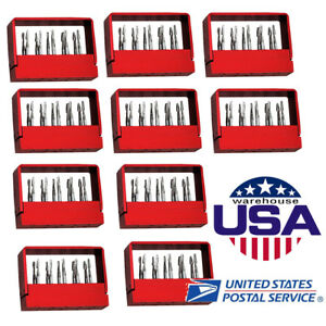 Us 100pc Dental Tungsten Steel Drills Burs For High Speed Handpiece Fg 1957 Sbt