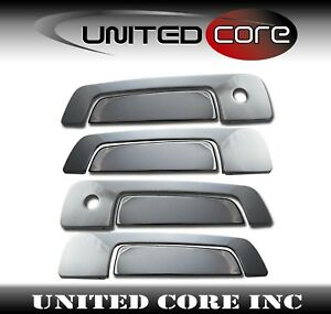 Mitsubishi Mirage 97 02 Galant 99 02 Stainless Steel Chrome Door Handle Covers