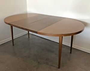 Paul Mccobb Two Toned Dining Table For Planner Group With Two Leaves