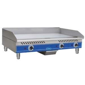 Globe Geg36 36 Electric Griddle Flat Top Grill