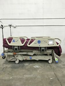 Hill Rom P1900 Spo2rt Sport 2 Totalcare Electric Patient Bed W air Mattress