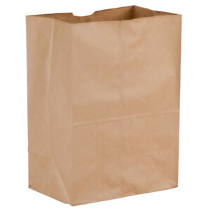 Duro 1 8 Brown Paper Barrel Sack 10 1 8 X 6 3 4 X 14 3 8 500 pack