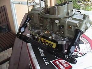 Holley 850 Cfm Dual Feed Double Pumper Barely Used