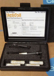 Helicoil 5523 10 Thread Repair Kit For Spark Plugs M10 1 00 Mm Usa