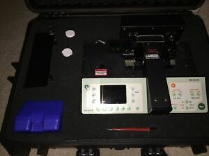 Ericsson Fsu 995pm Fusion Splicer Kit With Accessories Cleaver Fiber Holders
