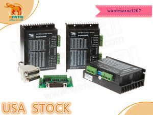 usa Free 3axis Wantai Stepper Motor Driver Dq860ma 80v 7 8a 256micro For Nema34