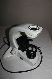 Leica Dmls Microscope Stan Stativ Mikroskop Light Working