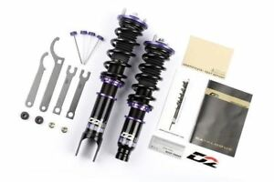D2 Racing For 93 96 Mitsubishi Mirage Rs Series 36 step Adjustable Coilover Kit