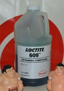 Loctite 609 1 Liter Retaining Compound 10 2019 Made Stocked In Usa 60943 1l