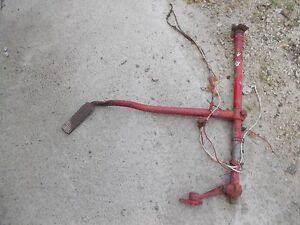 Ford 8n Tractor Right Brake Pedal Shaft W Pedal