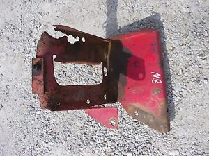 Ford 8n Tractor Tool Box Holder Bottom Brace Battery Tray