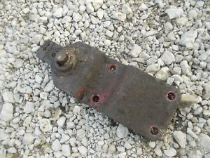 Ford 8n Tractor Main Swinging Drawbar Tongue Anchor Mount Bracket