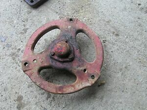 Farmall A Sa Tractor Ih Front Hub Eyelet Mount Style Complete With Ihc Hub Cap