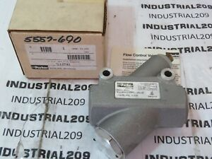 Parker Pneumatic Valve S125b New In Box