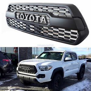 2016 2017 2018 Toyota Tacoma Sr5 Sport Oem Trd Pro Style Front Bumper Grille