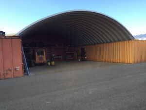 30x40 Steel Metal Arch Diy Shipping Container Cover