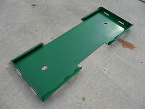 John Deere Compact Tractor Loader Skid Steer Mount Weld Plate Free Shipping