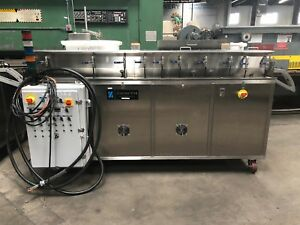 Zenith Sss 960 Ultrasonic Cleaner Strip Metal Parts Washer 2 5 wide 2014