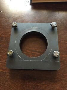 9x20lathe 4bolt High Grade Steel Compound Clamp Plate With Bolts grizzly jet Etc