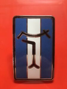 De Tomaso Pantera Front Nose Badge Blue White