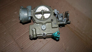 7019095 Rochester Oldsmobile F 85 2bbl Carburetor Small Base Plate