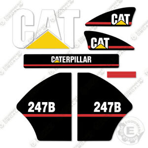 Caterpillar 247b Decal Kit Equipment Decals Older Style