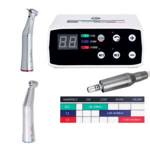 Nsk Style Dental Led Brushless Electric Micro Motor coxo 1 1 1 5 Push Handpiece