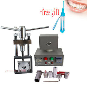 Dental Flexible Denture Injection Injects Heat Press Unit Partial Machine gift