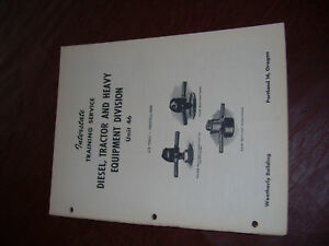 Murphy Diesel Engine Model Me 6 Repair Manual 1945