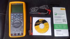 Brand New Fluke 289 True Rms Industrial Data Logging Digital Man Date 4 2018