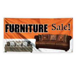 Furniture Sale Advertising Printing Vinyl Banner Sign With Grommets