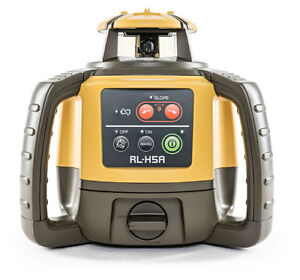 Topcon Rl h5a Long Range Rotating Laser Level With Rechargeable Battery Pack