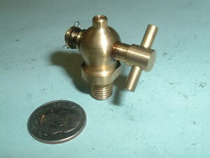 Mini Model Hit And Miss Gas Engine Brass Unspouted Drain Valve 1 16 Npt Thread