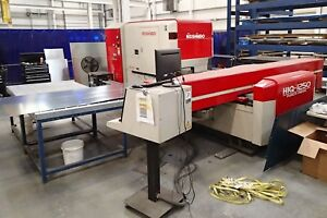 Nisshinbo Niq 1250 Cnc Turret Punch With All Tooling Tables