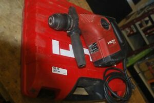 Hilti Te 16 Rotary Hammer Drill W hard Storage Case