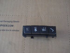 2012 Chevrolet Impala Driver Information Switch Oem